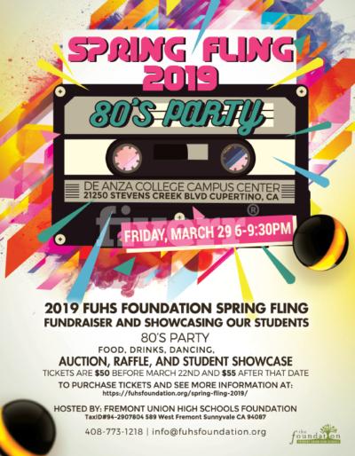 Spring Fling 2019 flyer